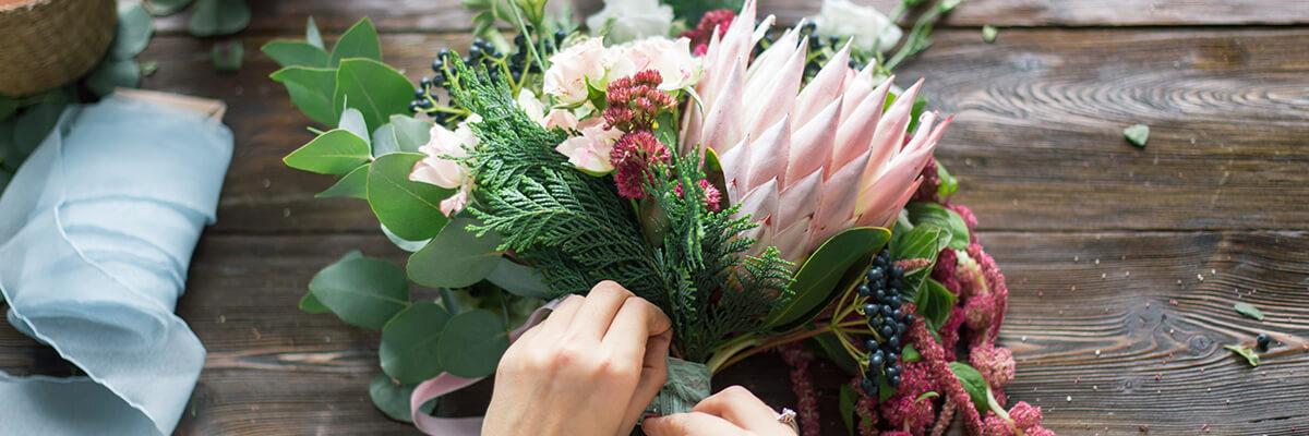 Bouquet artisanal
